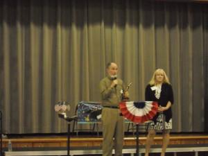 Stan Libert, YCLC Volunteer, receives the Bea Blatner Award 2013.