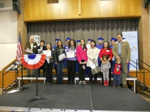YCLC Students were recognized for their recent success; earning GEDs and US Citizenship!