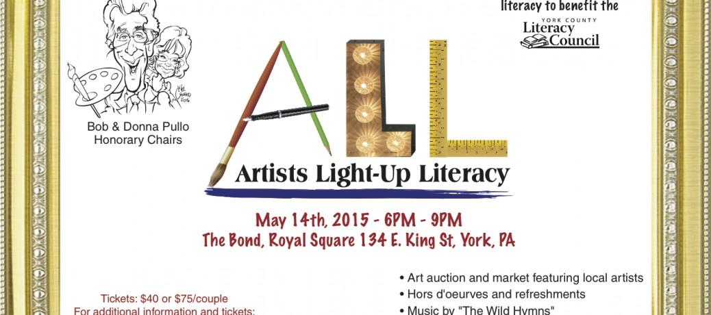 Artists Light-up Literacy